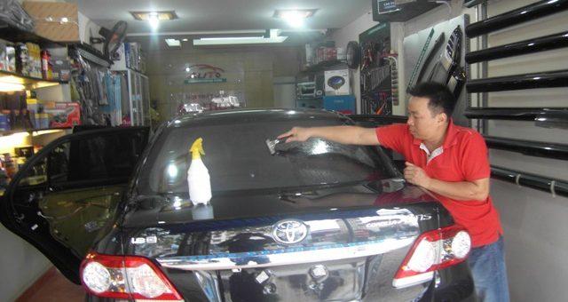 2 tiêu chí Lựa chọn phim cách nhiệt chống nóng cho ô tô tại quận thủ đức TP HCM
