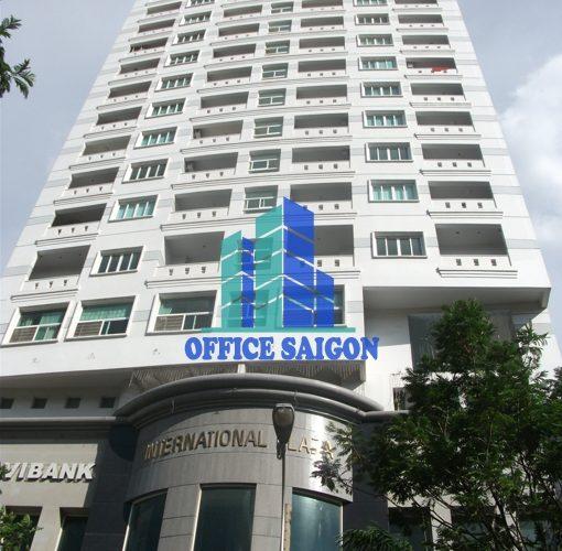 Dán kính chống nóng văn phòng tại toà nhà International Plaza,  Quận 1, TP HCM