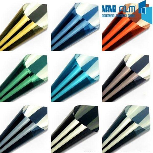 đa dạng màu sắc giấy dán kính cách nhiệt chống nóng